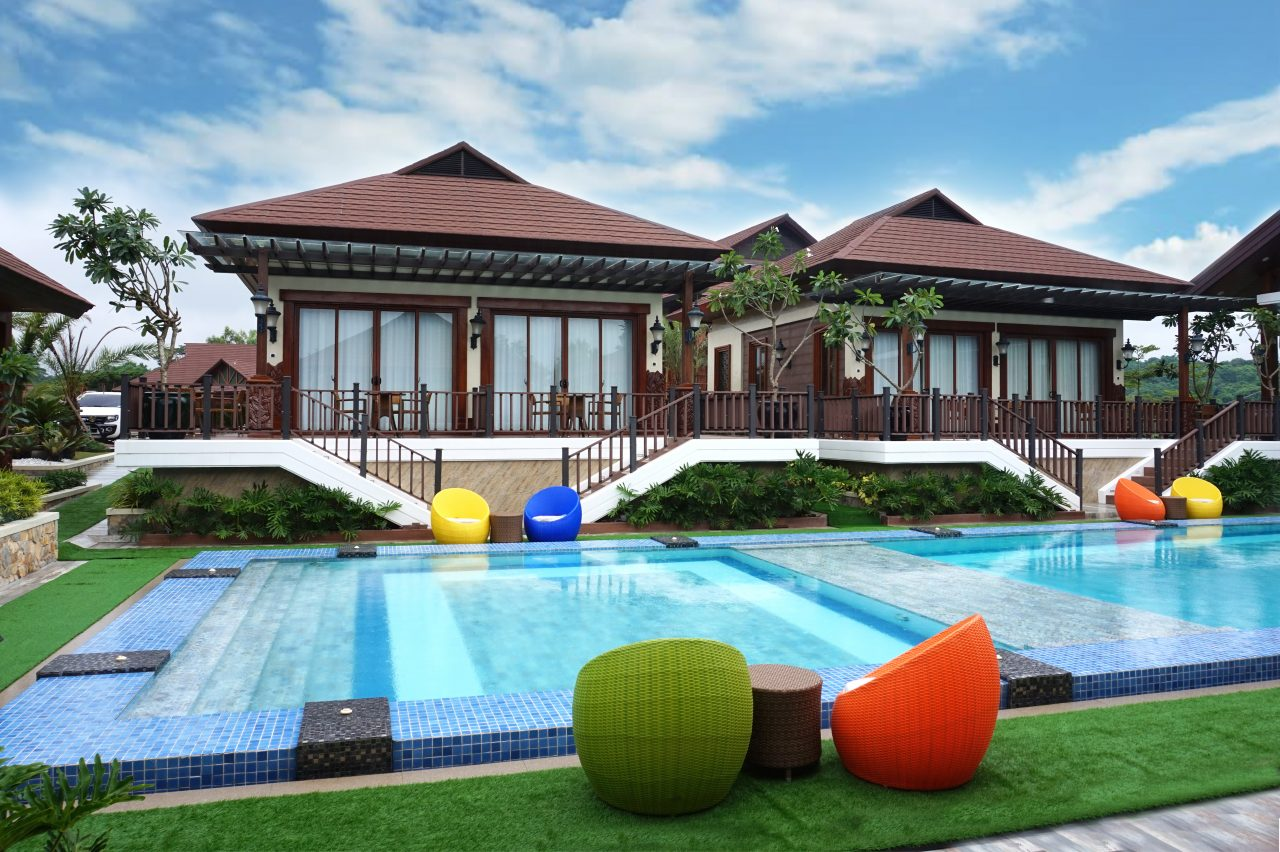 The Villa Pool